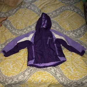 Toddler girl winter jacket